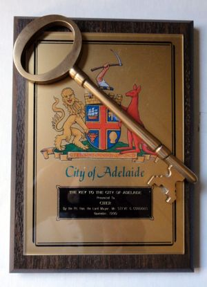 Key to Adelaide by Cher