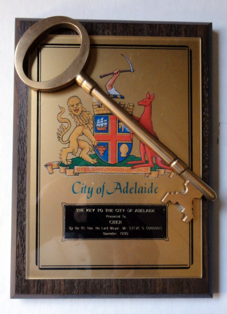 Key to Adelaide b