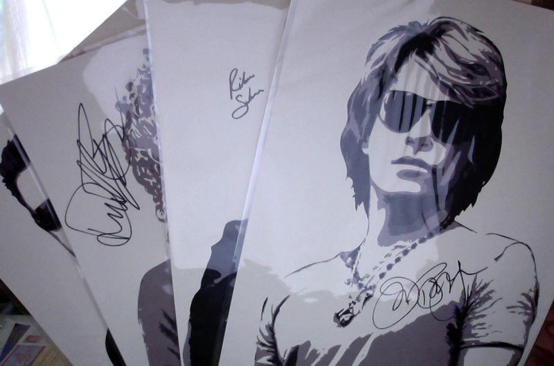 Jon Bon Jovi Litho