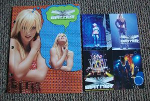 Britney Dream Tour Program 2002