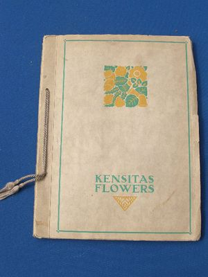 Kensitas Flowers Card Set
