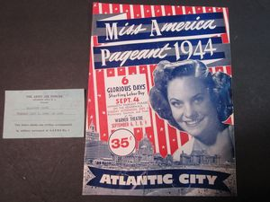 Miss America Atlantic City WWII