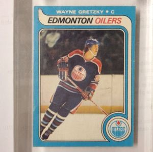Wayne Gretzky Rookie Card 1979