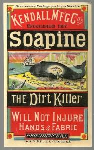 Soapine Trade Card