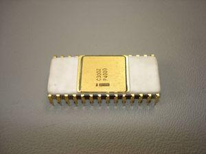 Vintage Intel Chip