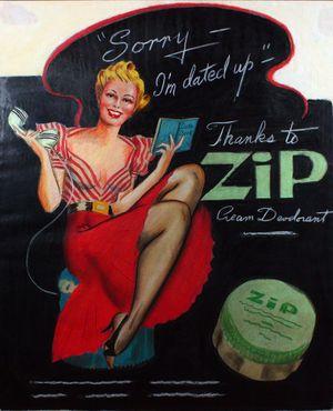 Zip cream ad
