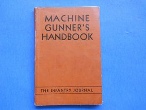 Machine Gunners Handbook