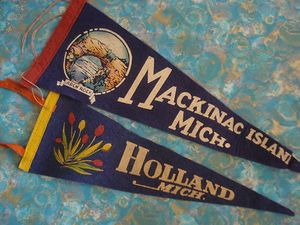Michigan Pennants