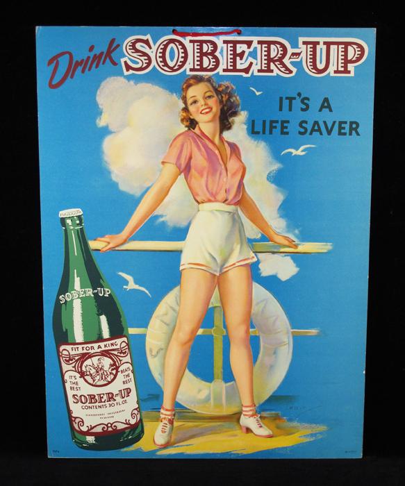 Sober-up soda poster