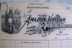 Amazon Vinegar
