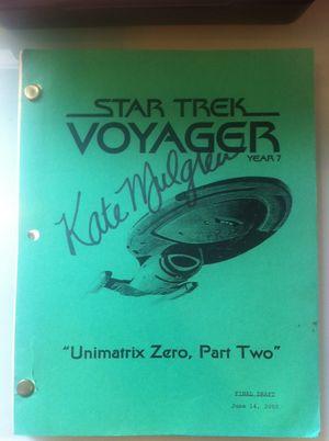 Star Trek Voyager Script