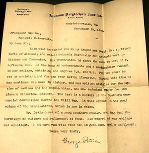 Auburn Sports Letter