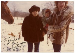 John Lennon Fur Coat