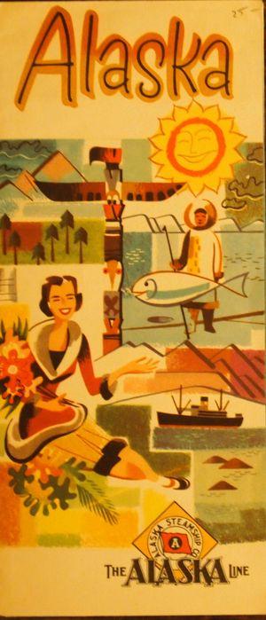 Alaska Steamship Company Brochure