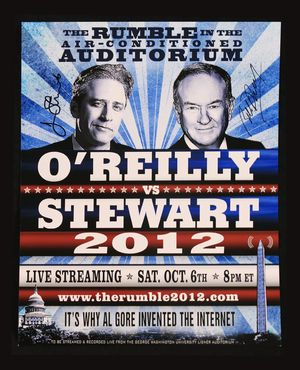 Stewart O'Reilly Rumble Poster