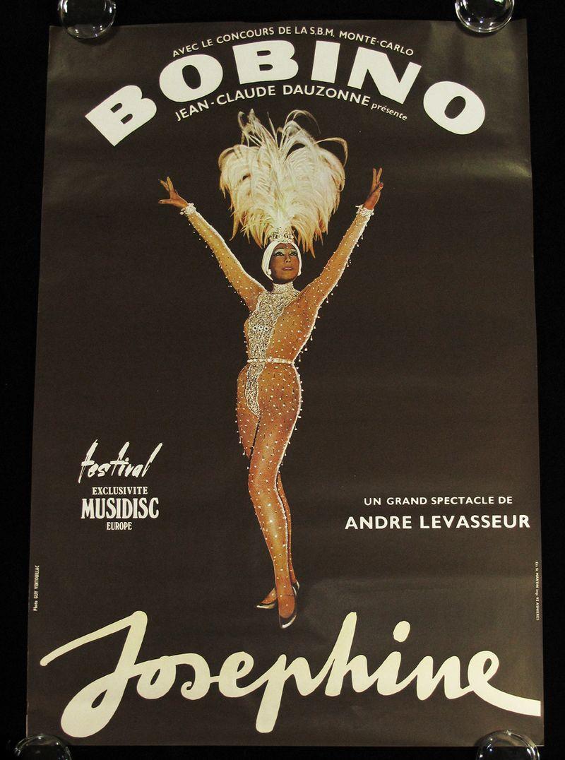 Josephine Baker Concert Poster