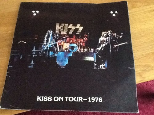 Kiss Tour Concert Program Book