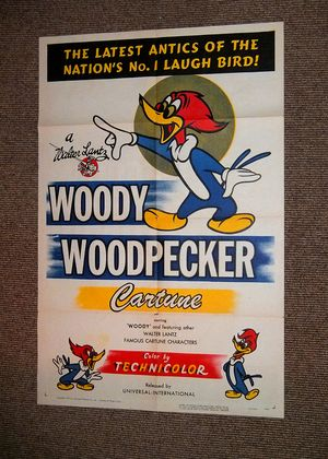 Woody Woodpecker Poster