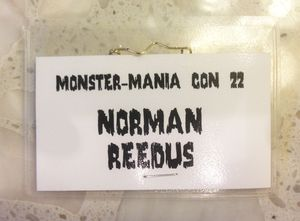Norman Reedus Monster-Mania Badge
