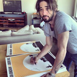 Ryan Bingham Signed Concert Poster