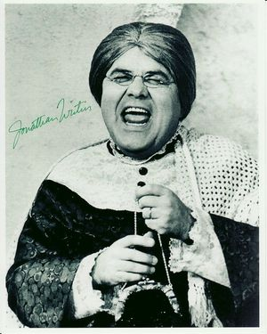 Jonathan Winters Autographed Photo