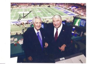 Pat Summerall Signed Photo