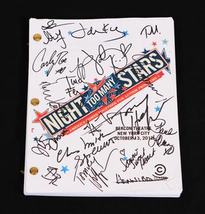 Night of Too Many Stars Signed Program