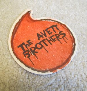 Avett Brothers Sticker