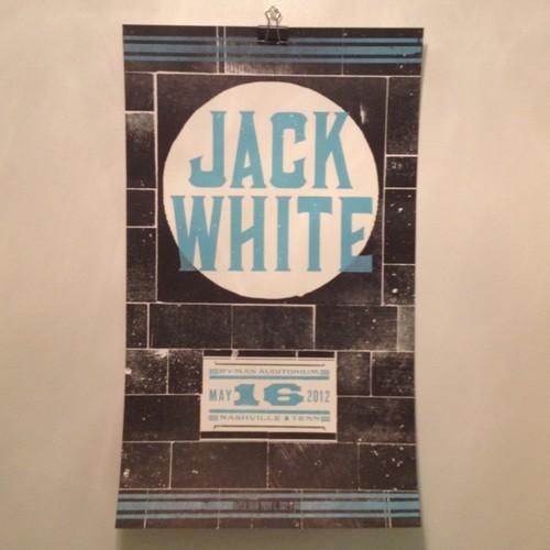 Jack White Poster