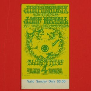 Hendrix Ticket Filmore