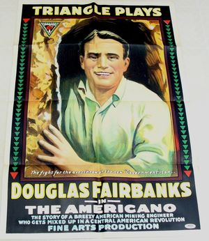 Fairbanks The Americano Movie Poster