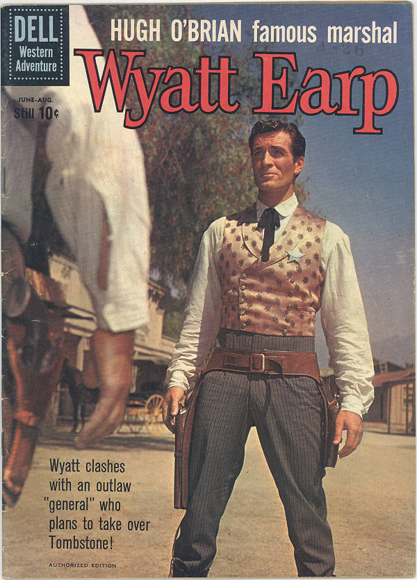 Wyatt Earp Comic Book