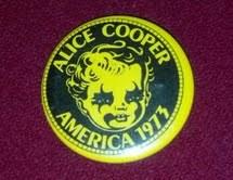 Alice Cooper Pin