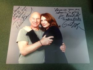 Star Trek Reunion Signed Photograph