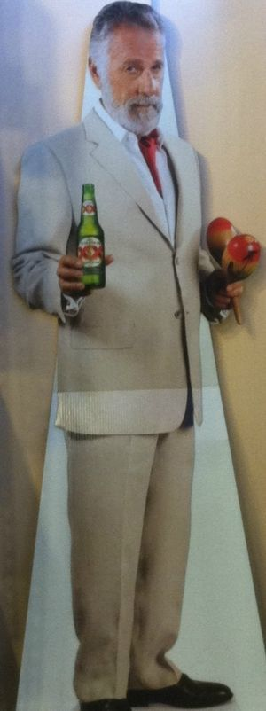 Dos Equis Interesting Man Cut-Out