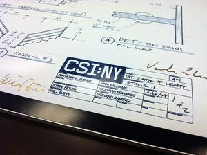 CSI NY Blueprints
