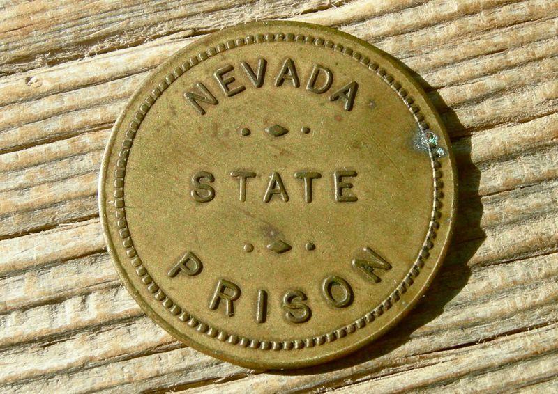 Nevada State Prison Token