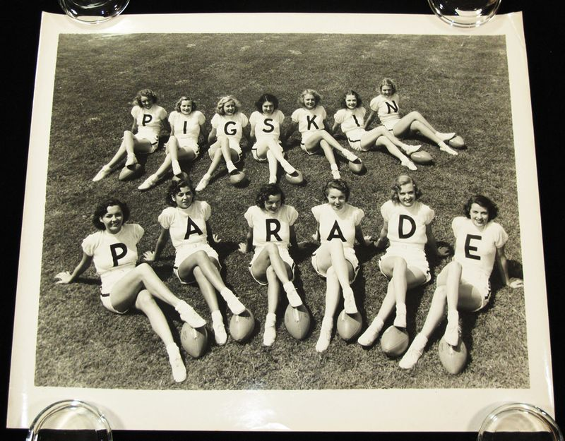 Pigskin Parade Pin-Ups Photograph