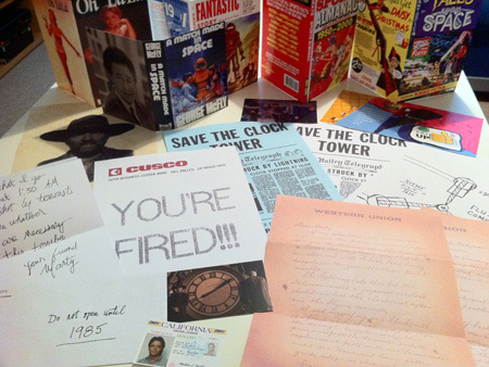 Back to the future ephemera collection