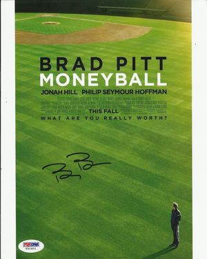 Billy Beane Autograph Money Ball