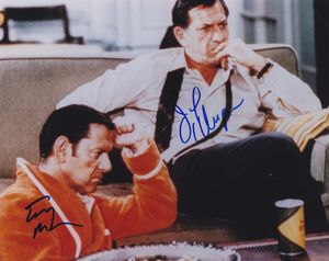 Jack Klugman and Tony Randall Signed Photo