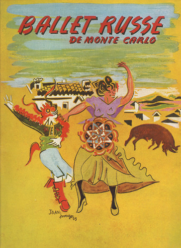 Ballet Russe De Monte Carlo Program