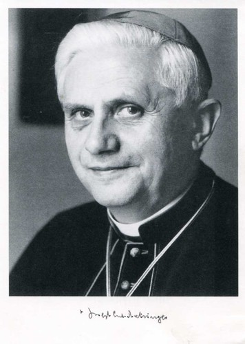 Pope Benedict Signed Photo