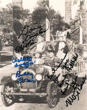 Beverly Hillbillies Cast Photograph