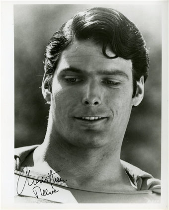 Superman Christopher Reeves Signed Photo