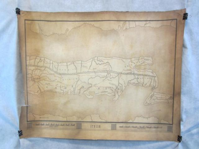 Sparticus Map Movie Prop