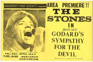 Stones Sympathy Devil Movie Poster