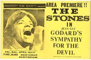 Stones Sympathy Devil Movie Poster