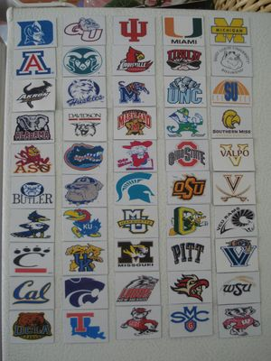 NCAA Refrigerator Magnets March Madness