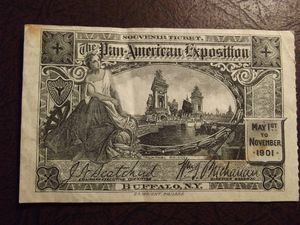 Pan American Expo Ticket Buffalo NY